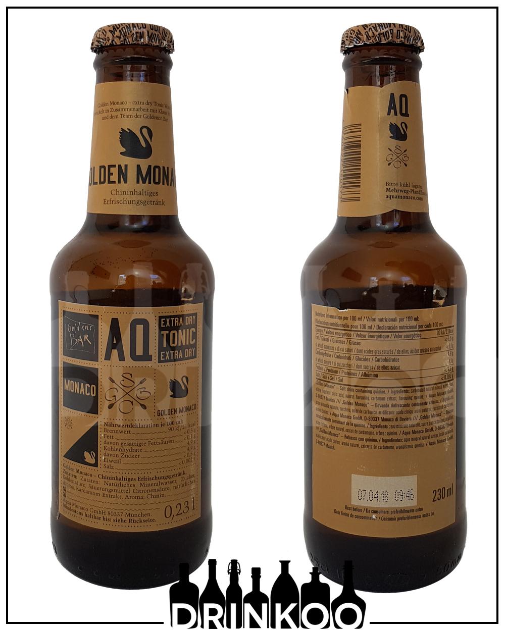 Aqua Monaco Golden Extra Dry Tonic