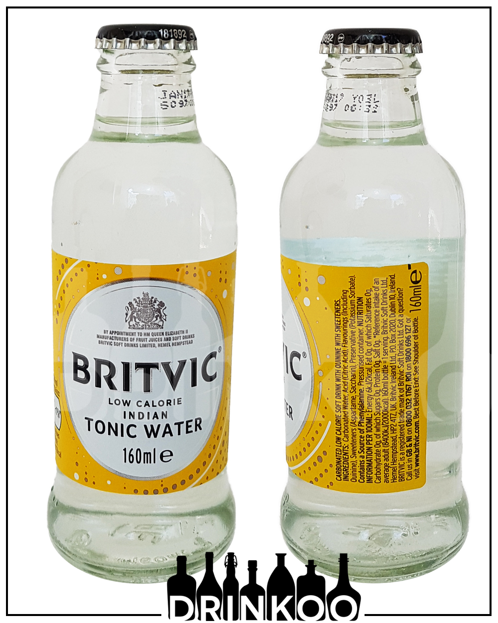 Britvic Low Calorie Indian Tonic Water