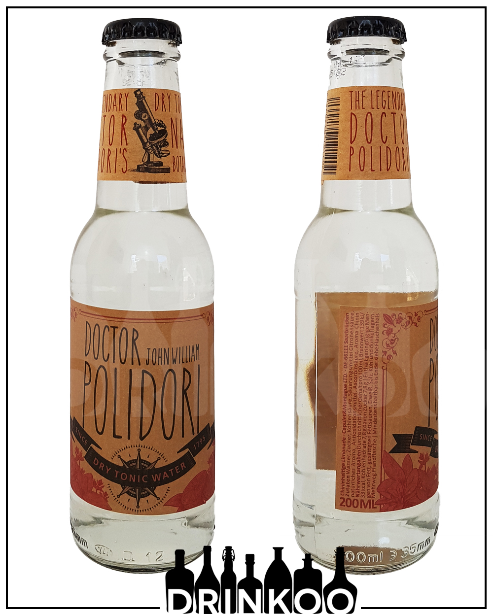Doctor Polidori Dry Tonic Water