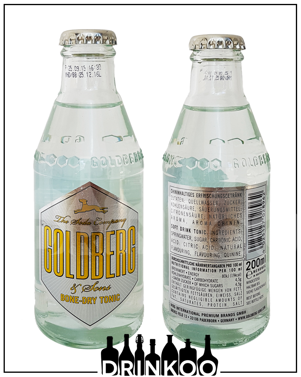 Goldberg Bone Dry Tonic Water