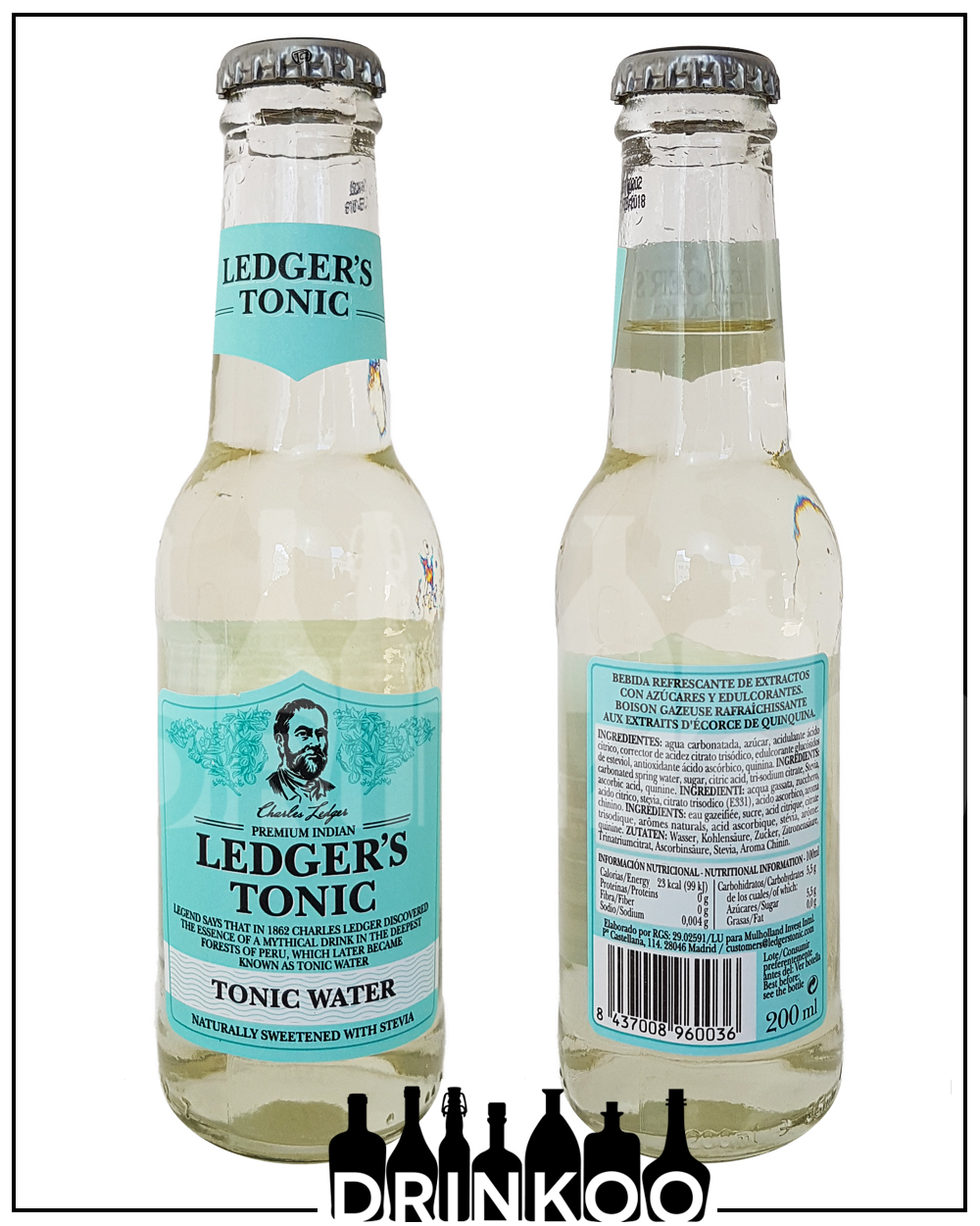 Ledgers Tonic Water