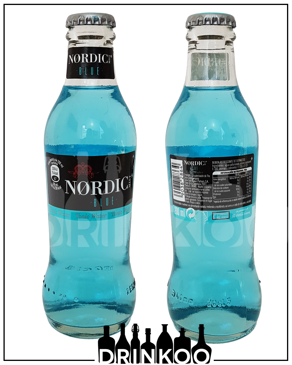 Nordic Blue Tonic Water