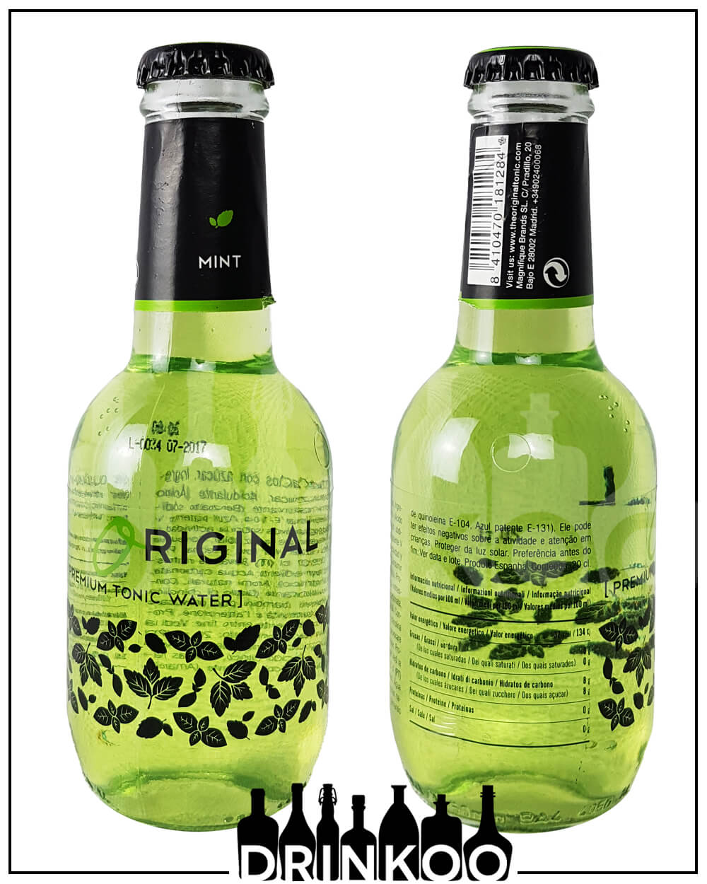 Orginal Premium Tonic Water Mint