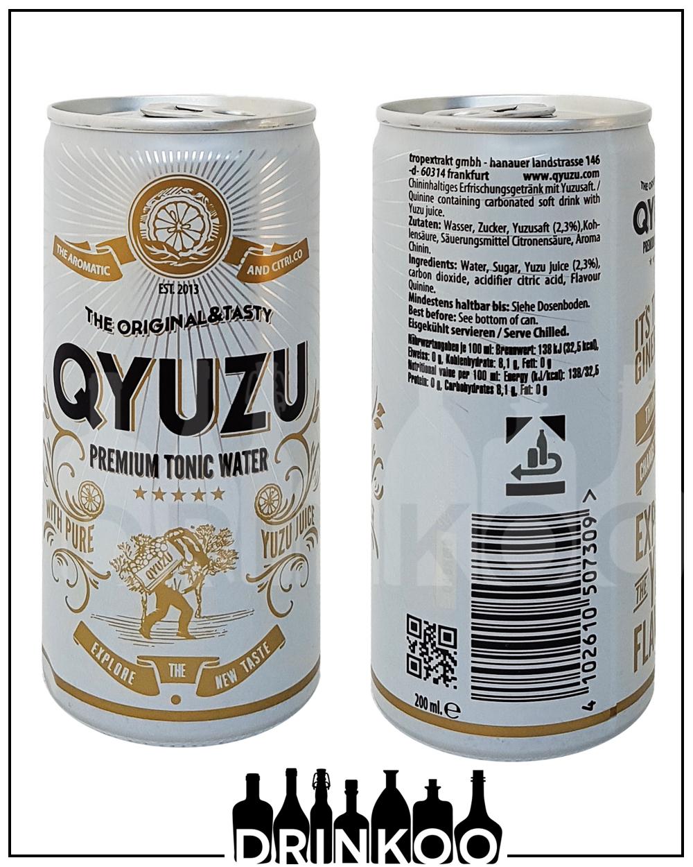 Qyuzu Premium Tonic Water