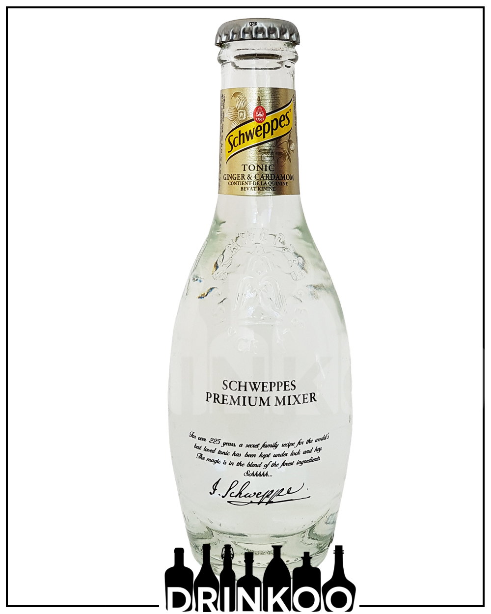 Schweppes Ginger Cardamom Tonic Water