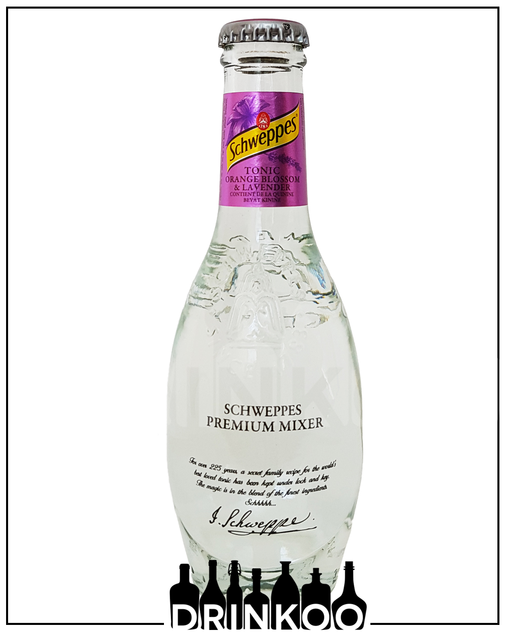 Schweppes Orange Blossom Lavender Tonic Water