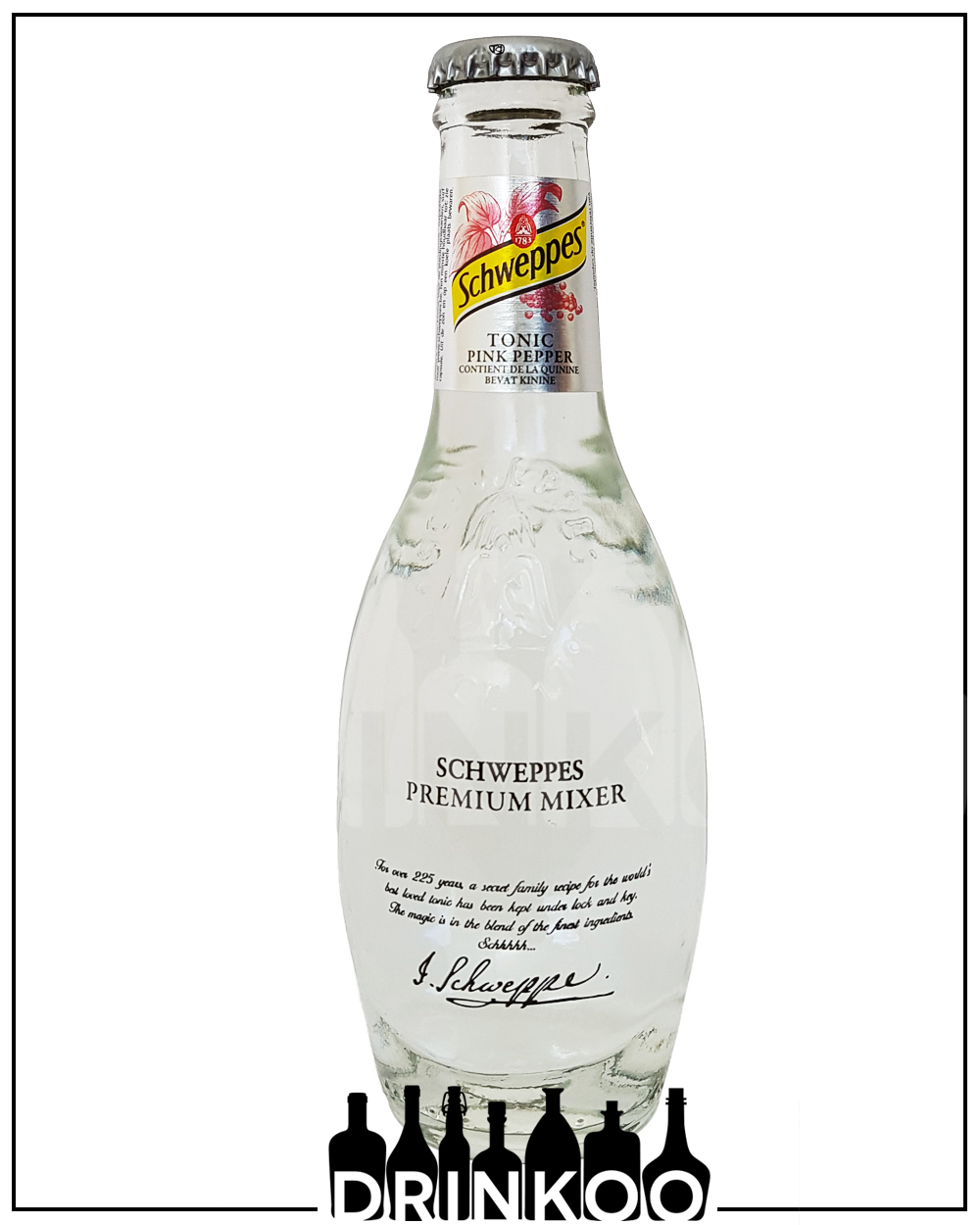 Schweppes Tonic Water Pink Pepper