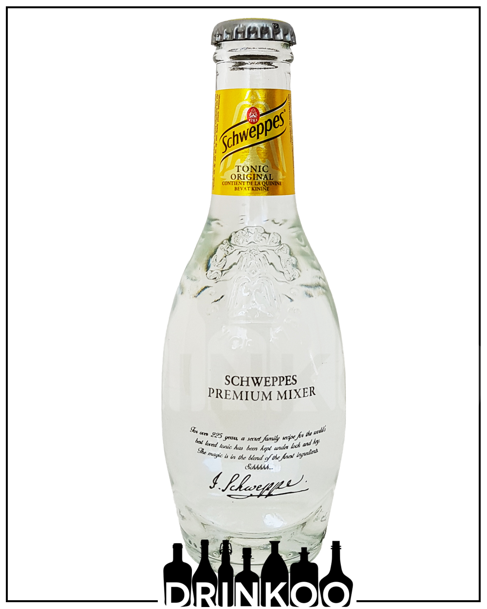 Schweppes Tonic Water original