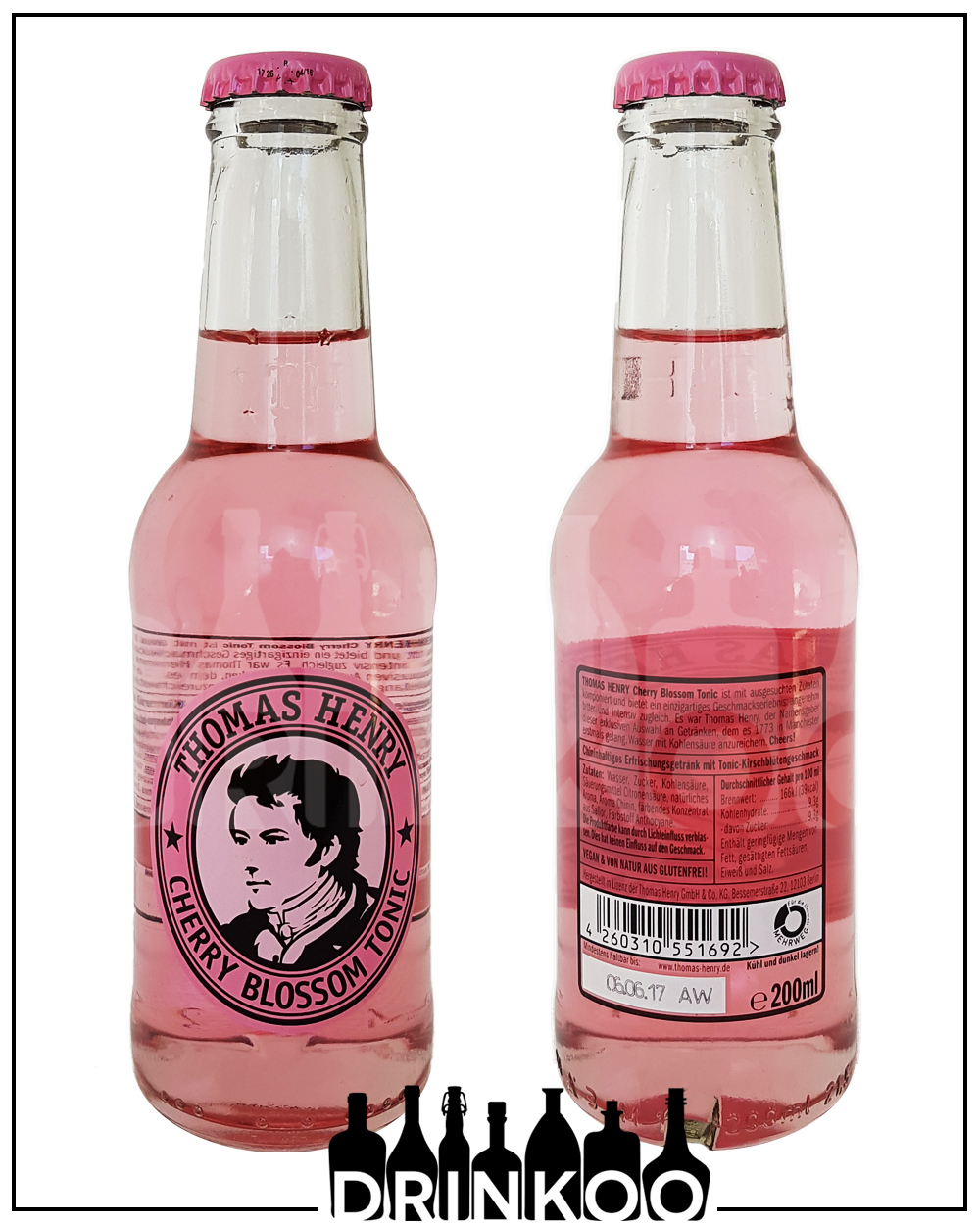 Thomas Henry Cherry Blossom Tonic Water
