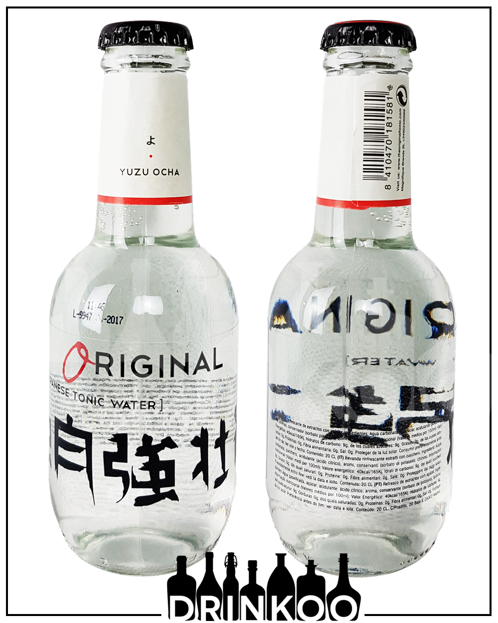Orginal Japanese Tonic Water