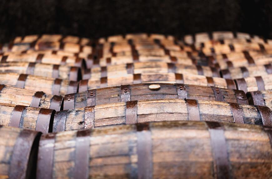 Cognac Lagerung