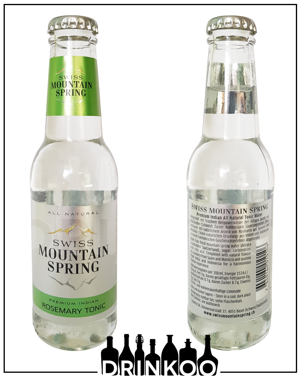 Mountain Spring Ginger & Lemongrass Tonic