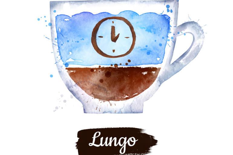 Kaffe Lungo Zusammensetzung