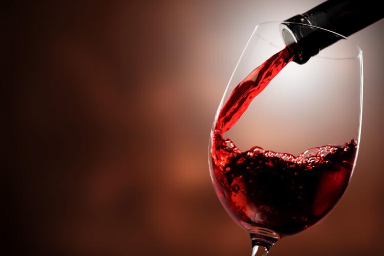 Merlot Wein