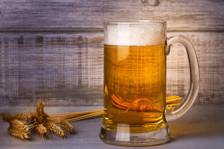 Witbier im Bierkrug