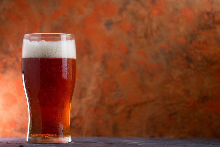 Ein Red Ale Bier