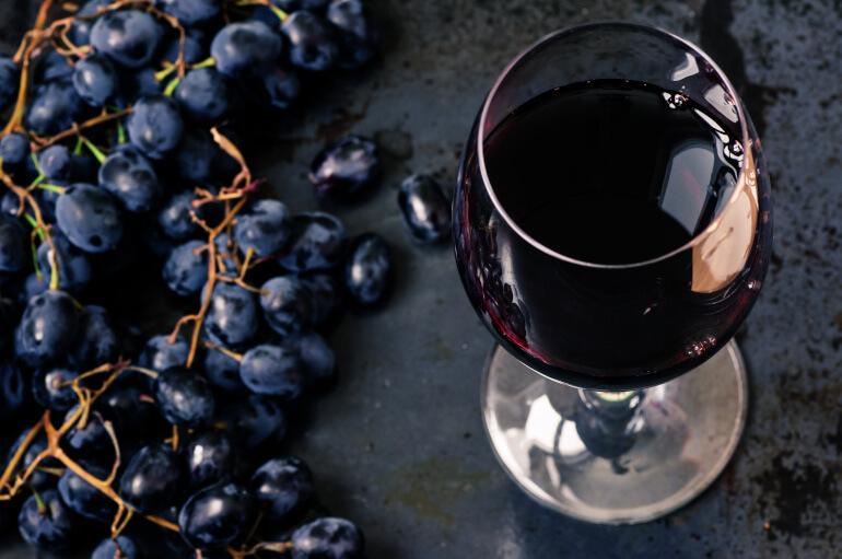 Pinot Noir im Weinglas
