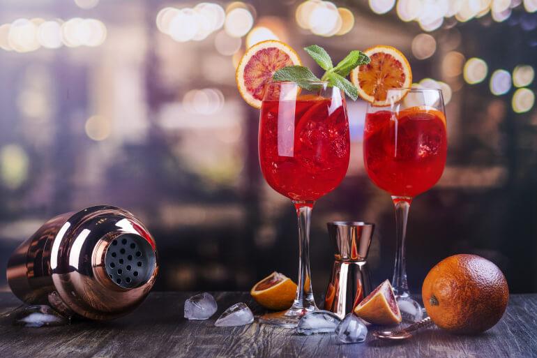 Campari als Cocktail