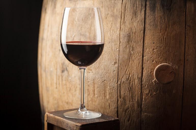 Malbec im Weinglas