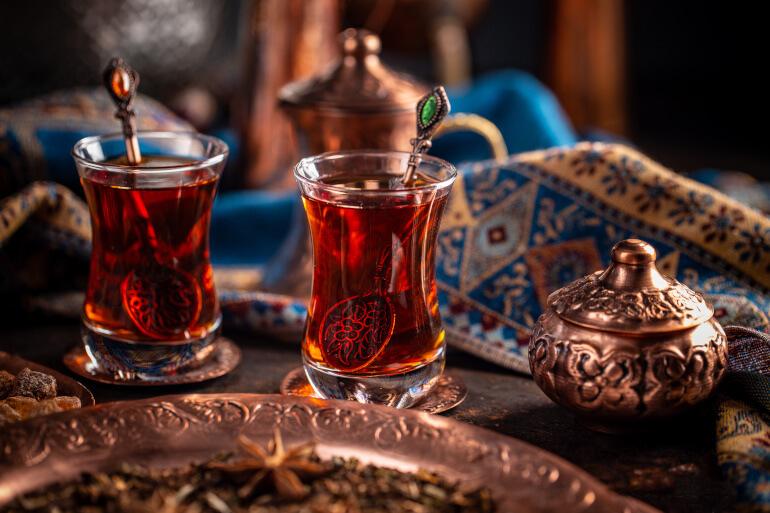 Schwarzer Tee traditionell