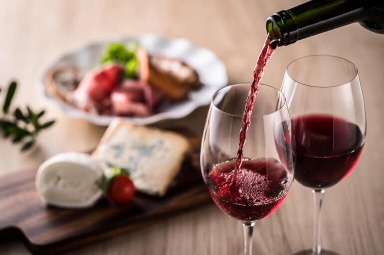 Beaujolais zum Essen