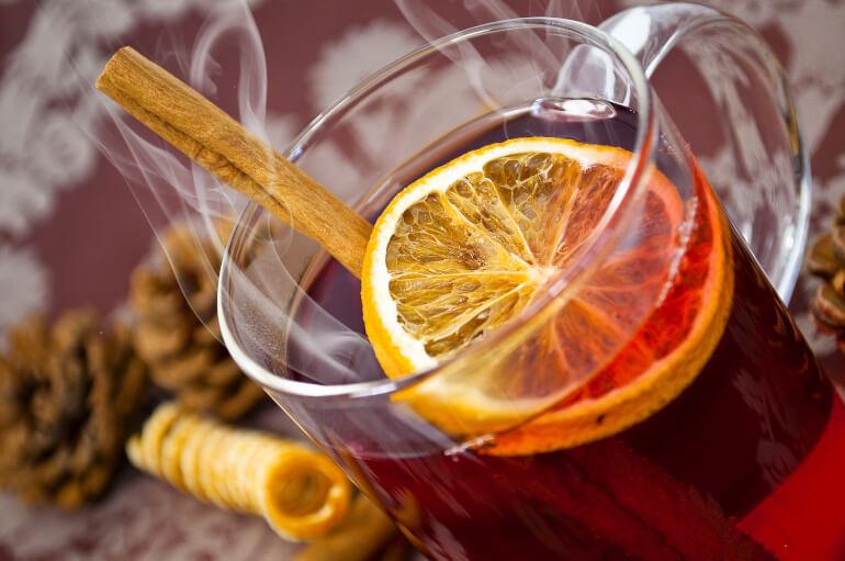 Gewuerz Orangen Tee