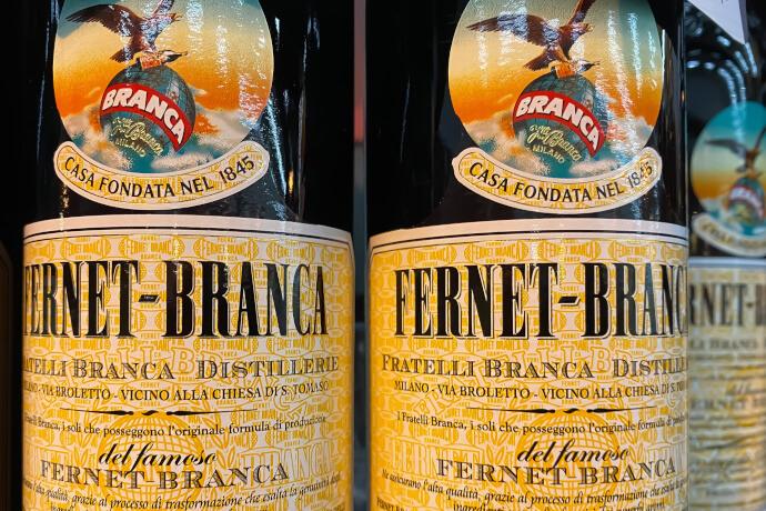 Fernet Branca Flaschen